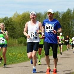46. jooks ümber Harku järve - Heiki Roomet (547), Andi Vallik (728)