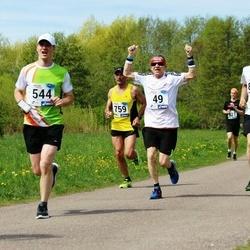 46. jooks ümber Harku järve - Aleksandr Baranov (49), Rivo Roo (544)