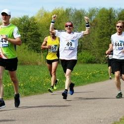 46. jooks ümber Harku järve - Aleksandr Baranov (49), Raul Vahisalu (844)