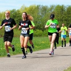 46. jooks ümber Harku järve - Piret Närep (421), Nina Solopaeva (609)