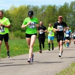 46. jooks ümber Harku järve - Kaspar Karumaa (184), Nina Solopaeva (609)
