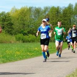 46. jooks ümber Harku järve - Kristi Kõll (271), Lauri Pihlak (798)