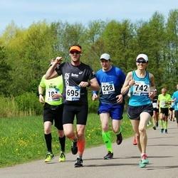46. jooks ümber Harku järve - Ilmar Koolmeister (228), Tambet Tõnisson (695), Anu Veermets (742)