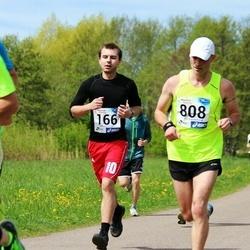 46. jooks ümber Harku järve - Martin Kalmet (166), Marko Salumaa (808)