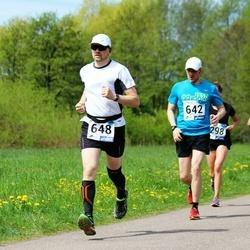 46. jooks ümber Harku järve - Taavet Tammik (642), Härmo Tellas (648)