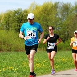 46. jooks ümber Harku järve - Grete Lehemaa (298), Taavet Tammik (642)