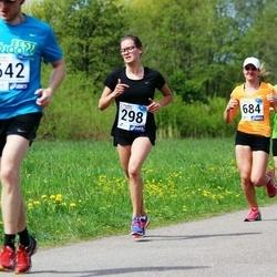 46. jooks ümber Harku järve - Grete Lehemaa (298), Merilin Treu (684)