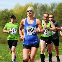 46. jooks ümber Harku järve - Juhan Telling (649), Maris Lillep (865)