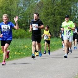 46. jooks ümber Harku järve - Jevgeni Martjušev (353), Jekaterina Pihlak (475)