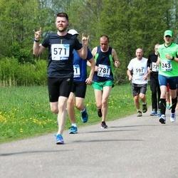 46. jooks ümber Harku järve - Margus Saar (571)