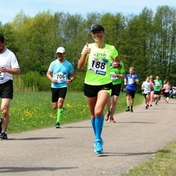 46. jooks ümber Harku järve - Karin Kask (188)