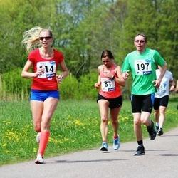 46. jooks ümber Harku järve - Merle Jeets (114), Mati Kiilu (197)