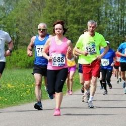 46. jooks ümber Harku järve - Gunnar Koitne (223), Jana Trunina (688)