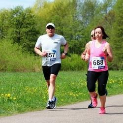 46. jooks ümber Harku järve - Jana Trunina (688), Riho Mikko (857)