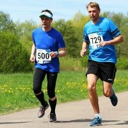 46. jooks ümber Harku järve - Lauri Preimann (500), Andrus Valma (729)