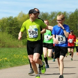 46. jooks ümber Harku järve - Henri Haugas (83), Alar Savastver (586)