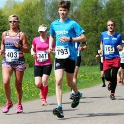 46. jooks ümber Harku järve - Mare Mändla (403), Alo Viirmaa (755), Henri Tops (793)