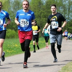 46. jooks ümber Harku järve - Aleksei Ronkel (543), Alo Viirmaa (755)