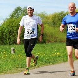 46. jooks ümber Harku järve - Henri-Rene Kuningas (259), Reito Reinla (532)