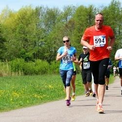 46. jooks ümber Harku järve - Aare Sepp (594), Ami Timm (661)