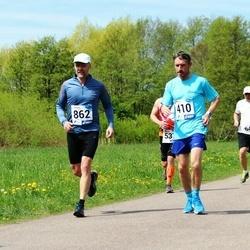 46. jooks ümber Harku järve - Donatas Narmont (410), Priit Altpere (862)