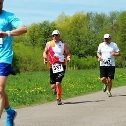 46. jooks ümber Harku järve - Peter Repkin (537), Veiko Tarm (643)