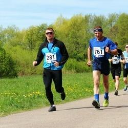 46. jooks ümber Harku järve - Ranno Laane (281), Urmas Virkebau (761)