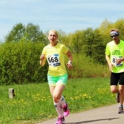 46. jooks ümber Harku järve - Tiia Toming (668)
