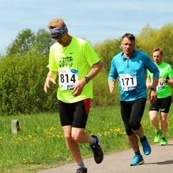46. jooks ümber Harku järve - Aimar Kann (171), Raido Karussaar (814)