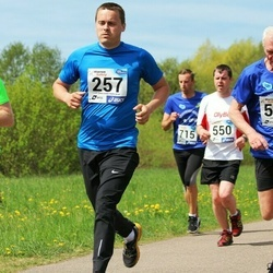 46. jooks ümber Harku järve - Innar Kull (257), Hannes Roomet (546)