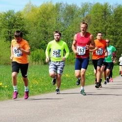 46. jooks ümber Harku järve - Rei Halla (80), Kaarel Kais (153), Priit Krüüts (250)