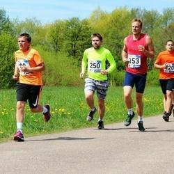 46. jooks ümber Harku järve - Kaarel Kais (153), Priit Krüüts (250)