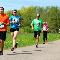46. jooks ümber Harku järve - Argo Põldoja (511), Anneli Soop (613)