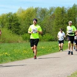 46. jooks ümber Harku järve - Taavet Kikas (202), Indrek Mägi (396)