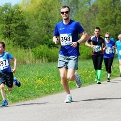 46. jooks ümber Harku järve - Karl Oskar Mägi (397), Madis Mägi (398)