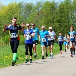 46. jooks ümber Harku järve - Olev Ainomäe (20), Kärt Pärtel (519), Indrek Viikmaa (749)