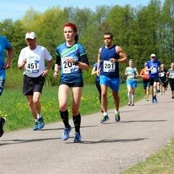 46. jooks ümber Harku järve - Olev Ainomäe (20), Liis Kilk (204), Mikk Lellsaar (302), Kalle Palmar (451)