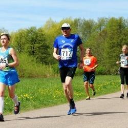 46. jooks ümber Harku järve - Kadri Mumm (385), Hillar Vainjärv (717)