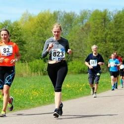 46. jooks ümber Harku järve - Signe Haug (82), Helen Ainelo (823)