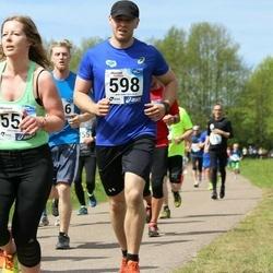 46. jooks ümber Harku järve - Günther Siimenson (598)