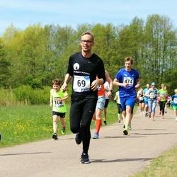 46. jooks ümber Harku järve - Sven Ersling (69), Hendrik Kangur (169)