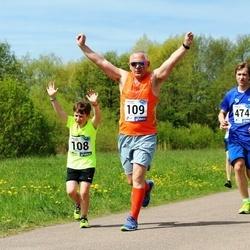 46. jooks ümber Harku järve - Karl Jakob Jakobi (108), Ranne Jakobi (109), Gunnar Pihlak (474)