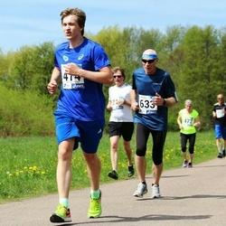 46. jooks ümber Harku järve - Gunnar Pihlak (474), Anatoli Šuvalov (633)