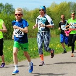 46. jooks ümber Harku järve - Roland Kingo (208), Aimi Pihel (472), Heliis Tiitma (658)