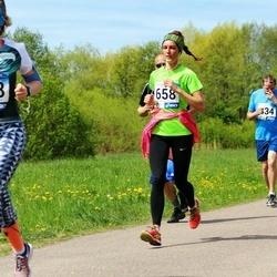 46. jooks ümber Harku järve - Elo Rüütel (568), Heliis Tiitma (658)