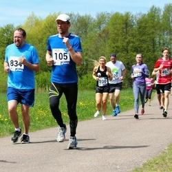 46. jooks ümber Harku järve - Marek Ivanov (105), Dmitri Smurov (835)