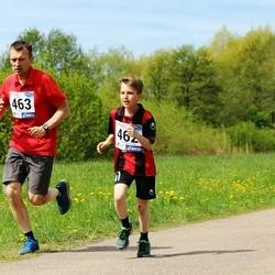 46. jooks ümber Harku järve - Illimar Peerna (462), Meelis Peerna (463)