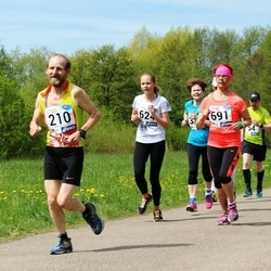 46. jooks ümber Harku järve - Kuno Kipper (210), Tatjana Tšurkina (691)