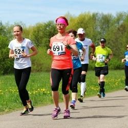 46. jooks ümber Harku järve - Suvi Sumberg (624), Tatjana Tšurkina (691)