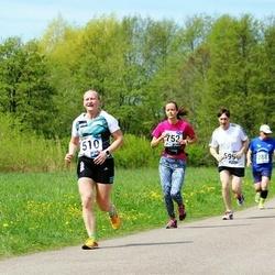 46. jooks ümber Harku järve - Marge Põder (510), Laura Viilup (752)